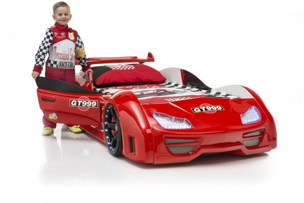 Autobett GT 999 Rot mit Türen