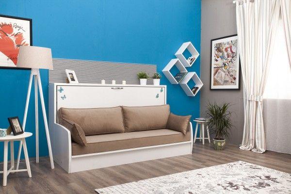 Schrankbett DIVA SOFA mit Couch