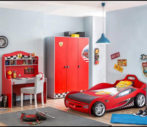 Cilek RACECUP Autobett-Kinderzimmer, 3-tlg.