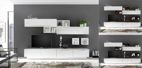 Wohnwand INFINITY 12-tlg, 5 Farben
