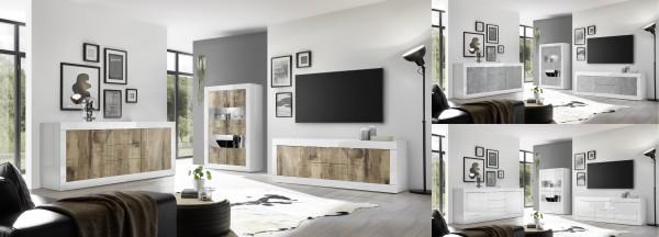 Wohnzimmer SILIO 3-teilig