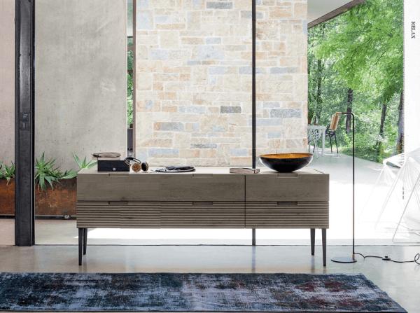 Sideboard aus Eiche Zero.16, Handarbeit, italienisches Design ...