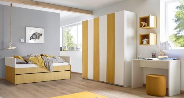 Schlafzimmer FRELI inkl. Schubkasten/ Gästebett