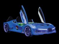Autobett AERO Extreme blau, 90x190 cm