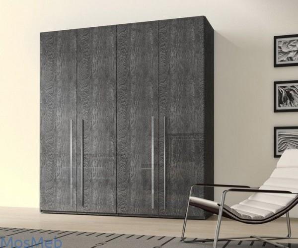 Einlegeboden für Kleiderschrank Elite GREY BIRCH, italienische luxus Möbel, Doppeltüre