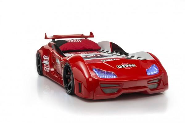 Autobett GT 999 Rot mit Sound + Fernbedienung