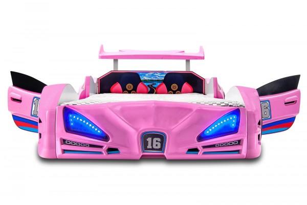 Autobett VERON XRF-3 Pink mit Türen