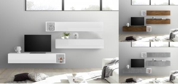 Wohnwand INFINITY 5-tlg, 5 Farben