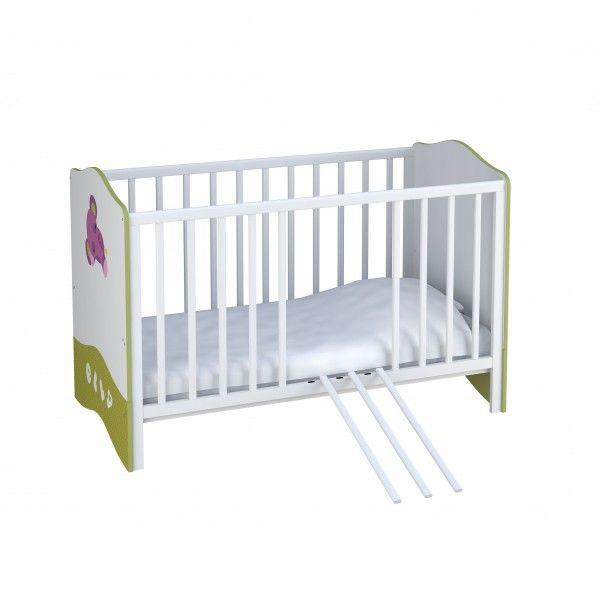 Babybett CHARLIE umbaubar zum Kinderbett, 70x140cm
