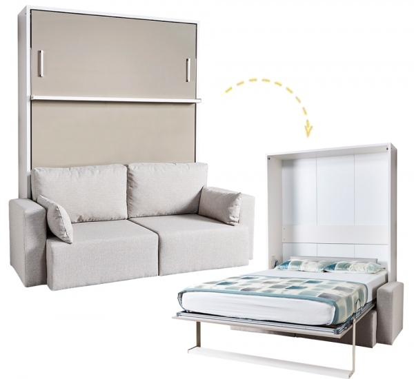 Multimo ROYAL Wandbett mit Sofa