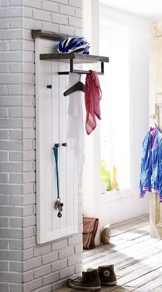 Garderobenpaneel BLANCE, Akazie lackiert