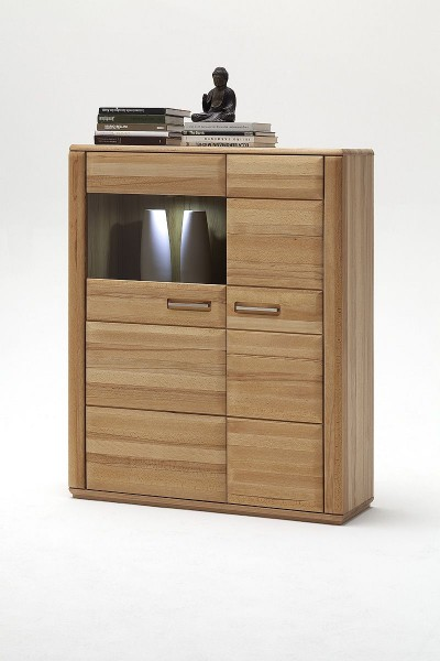 Highboard Lenor III, Eiche oder Buche
