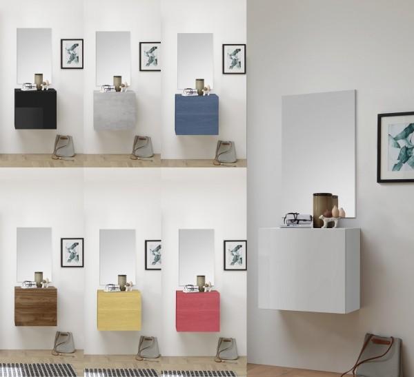 Garderobe INFINITY 2-tlg, 9 Farben