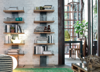 Bücherregal INFINITY, italienisches Design
