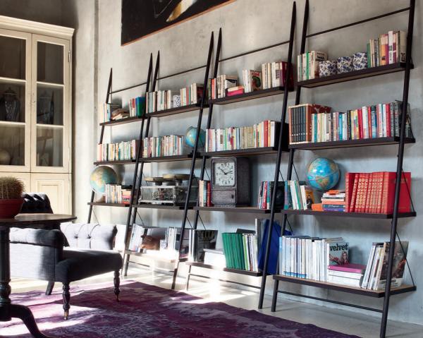 Bücherregal EASY, italienisches Design