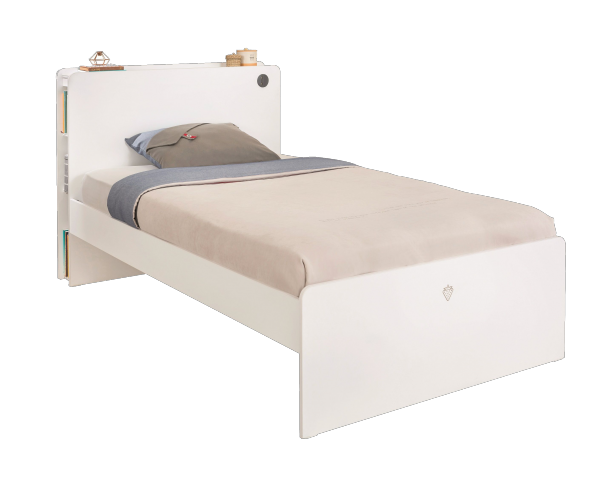 Cilek WHITE Bett, 120x200 cm