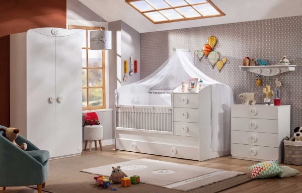 Baby Cotton Babyzimmer 7tlg.