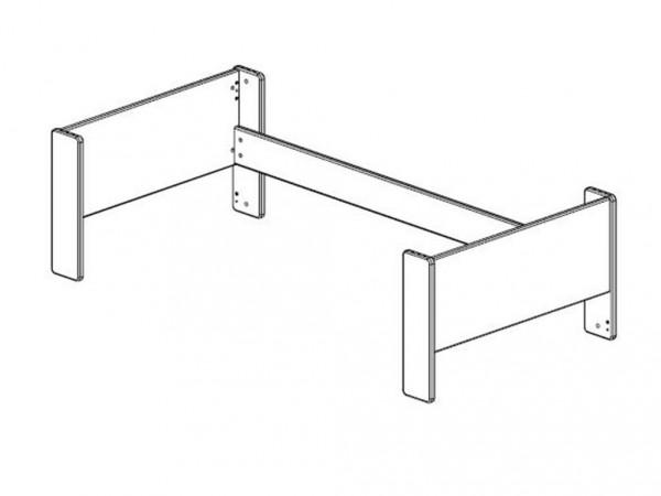 Steens Etagenbett Weiß : Etagenbett hochbett stockbett aus massivholz von life time in