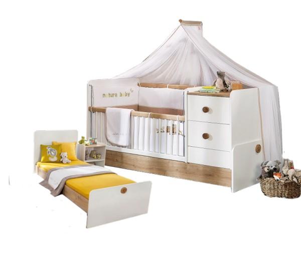 Babybett / Kinderbett KEIRA, 70x140 cm