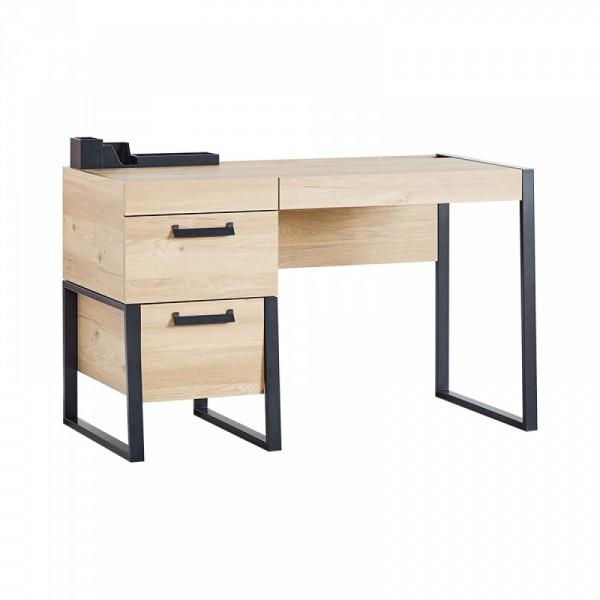 Almila IRONY Schreibtisch mit integrierter Kommode