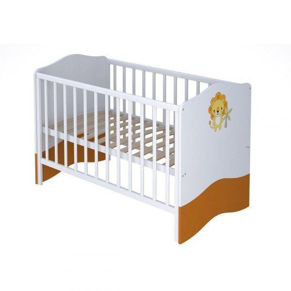 Babybett URWALD zum Kinderbett umbaubar 70x140cm