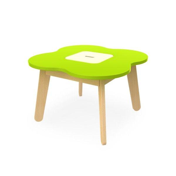 Timoore Spieltisch Simple mit Stauraum in 4 Farben