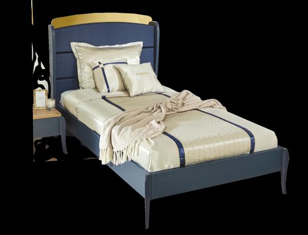 Almila ELEGANT BLUE Bett, 100x200 cm
