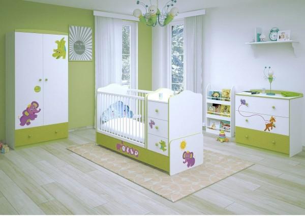 Babyzimmer 3-teilig CHARLIE (II)