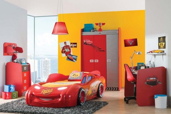 Alfemo Kinderzimmerset Cars 6 teilig