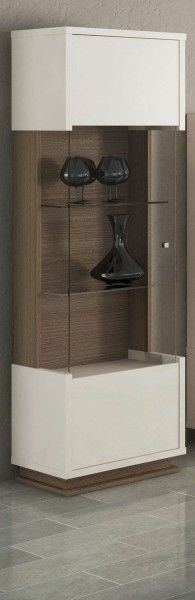 Vitrine Evolution, italienische luxus Möbel, 1-türig
