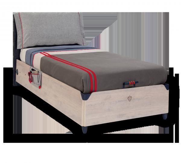 Cilek TRIO Bett mit Bettkasten, 100x200 cm