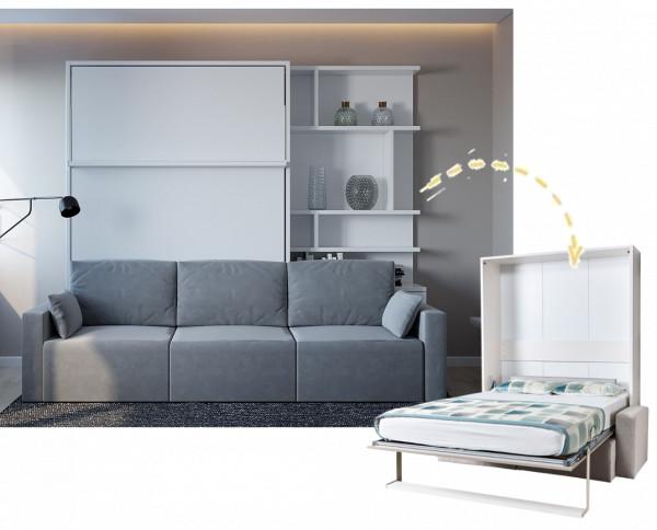 Multimo ROYAL Wohnwand mit Wandbett und Couch