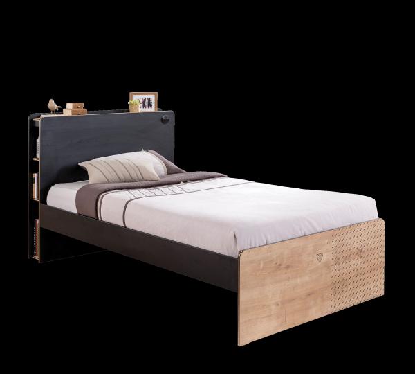 Cilek BLACK Bett, 120x200 cm
