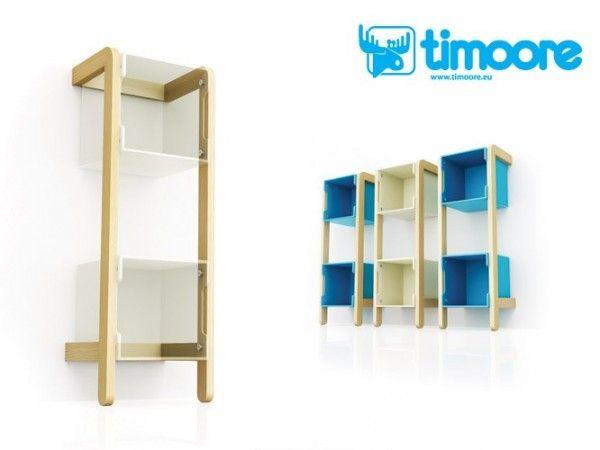 Timoore Rahmen Simple für Aufbewahrungsbox Regalsystem