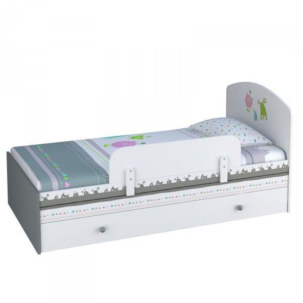 Kinderbett MONSTER, 70x140 cm