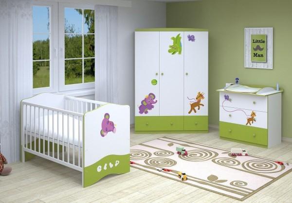 Babyzimmer 3-teilig CHARLIE (I)