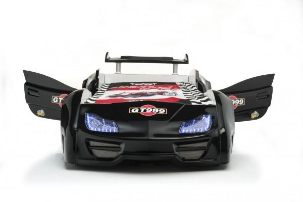 Autobett GT 999 Schwarz mit Türen