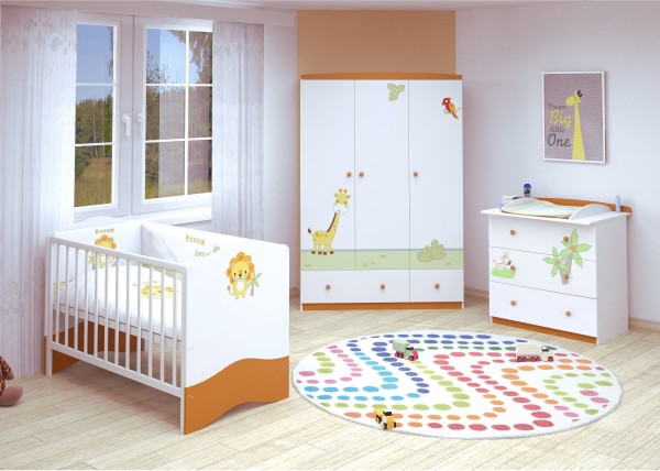 Babyzimmer 3-teilig URWALD (II)