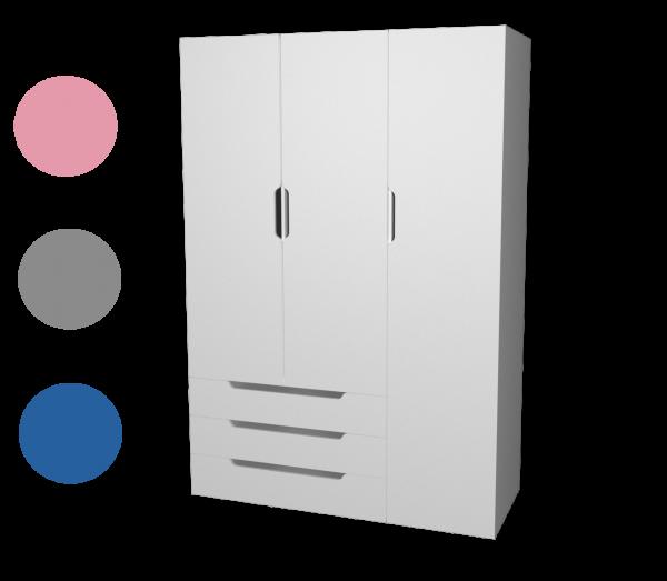 Kleiderschrank WINDFALL, 3-trg.