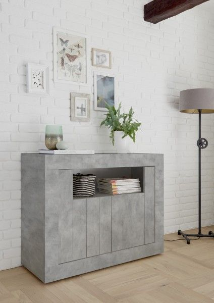 Sideboard LEONELLO, Beton-Optik