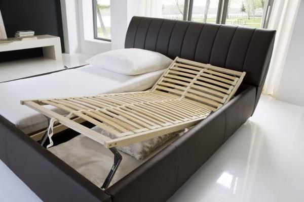 Polsterbett RENATE, inkl. Bettkasten und Lattenrost