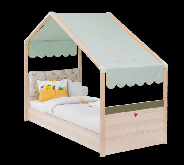 Cilek Kinderbett MONTE mit Markise, 80x180 cm