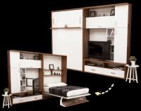 Multimo DIVA SALOON Wohnwand mit Schrankbett