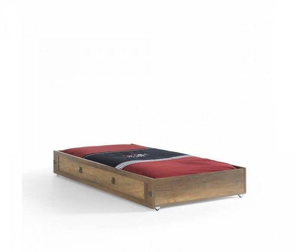 Bettkasten / Ausziehbett KORSAN, 90x190 cm
