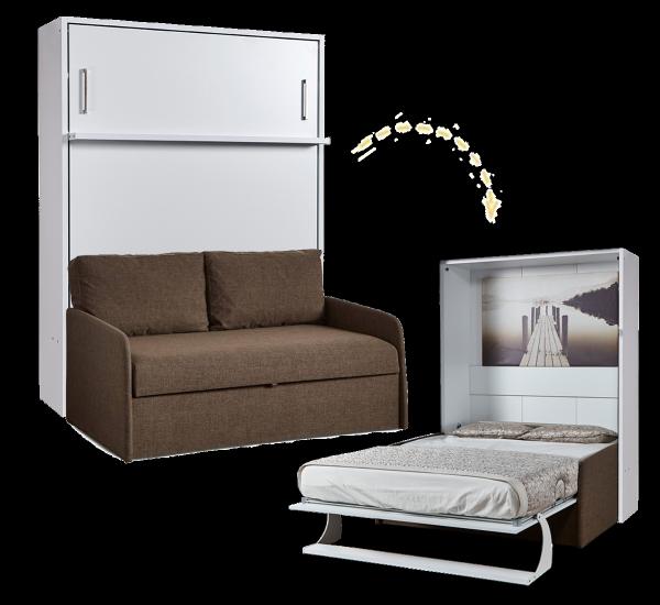 Multimo DIVA DOUBLE Schrankbett mit Sofa