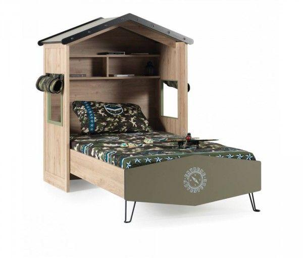 Kinderbett CAMP, 100x200 cm