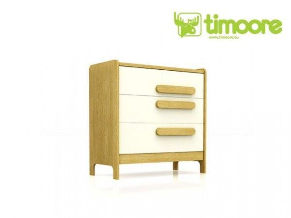Timoore First Kommode mit 3 Schubladen in 5 Farben