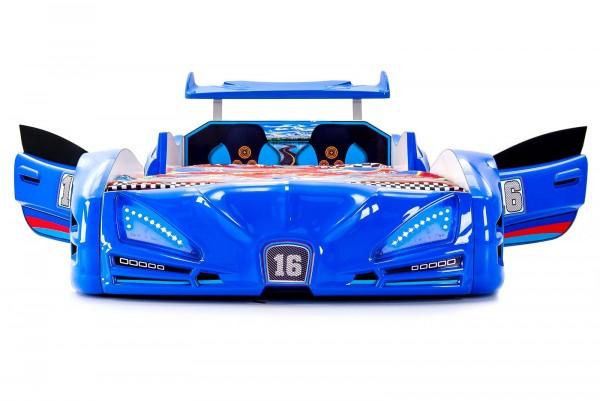 Autobett VERON XRF-3 Blau mit Türen