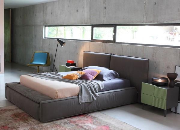 Bett ZERO.16, 160 x 200 cm., italienisches Design | Amilando-Möbel