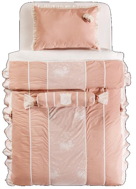 cilek romantic dream tagesdecke 120 140 cm mit kissen. Black Bedroom Furniture Sets. Home Design Ideas